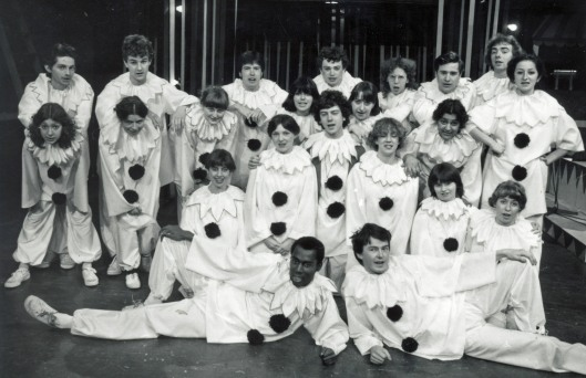 Class of 1982 - in our first year production of Oh What A Lovely War