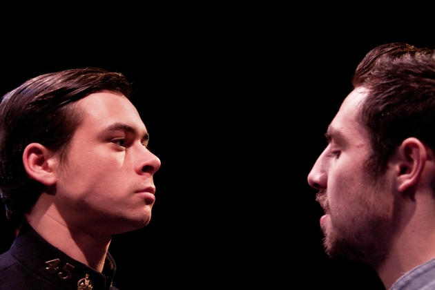 Adam Long and Arron Lee in Better Times by Barrie Keefe - Third Year Graduation show at The Arden School of Theatre in Manchester.