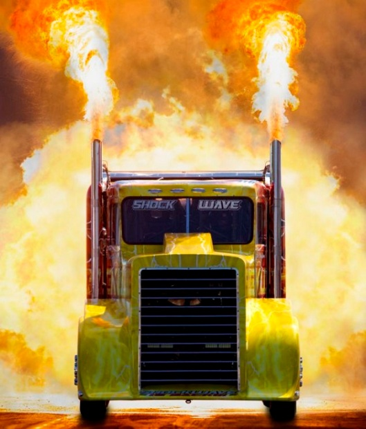 Shockwave - The Worldst Fastest Jet Powered Truck