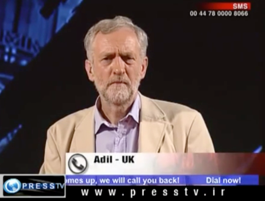 Jeremy Corbyn on PressTV 6.3.2010